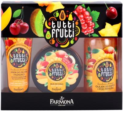 Farmona Tutti Frutti Peach & Mango set cosmetice I.