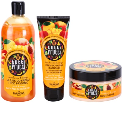 Farmona Tutti Frutti Peach & Mango kozmetika szett I. 1