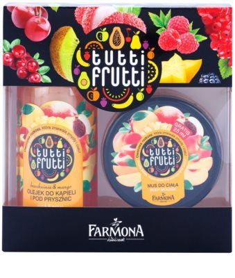 Farmona Tutti Frutti Peach & Mango Kosmetik-Set  II.