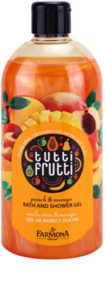 Farmona Tutti Frutti Peach & Mango gel za prhanje in kopanje