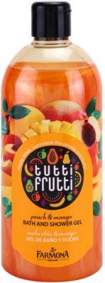 Farmona Tutti Frutti Peach & Mango żel do kąpieli i pod prysznic