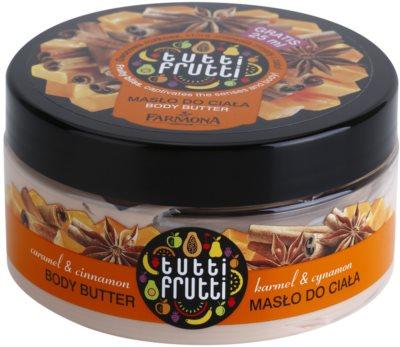 Farmona Tutti Frutti Caramel & Cinnamon unt  pentru corp