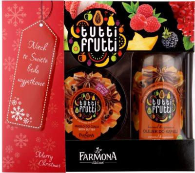 Farmona Tutti Frutti Caramel & Cinnamon kozmetická sada II.