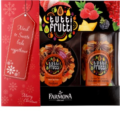 Farmona Tutti Frutti Caramel & Cinnamon kozmetika szett II.