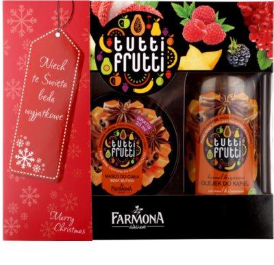 Farmona Tutti Frutti Caramel & Cinnamon lote cosmético II.
