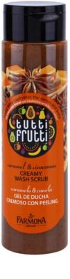 Farmona Tutti Frutti Caramel & Cinnamon exfoliante de ducha cremoso