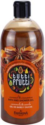 Farmona Tutti Frutti Caramel & Cinnamon gel za prhanje in kopanje