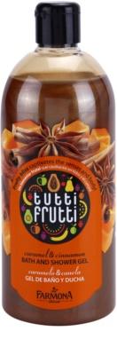 Farmona Tutti Frutti Caramel & Cinnamon sprchový a kúpeľový gél