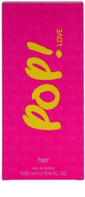 Fcuk Pop! Love Eau de Toilette para mulheres 3