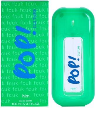 Fcuk Pop! Culture тоалетна вода за мъже