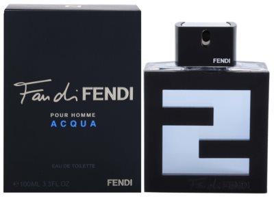 Fendi Fan di Fendi Pour Homme Acqua eau de toilette férfiaknak