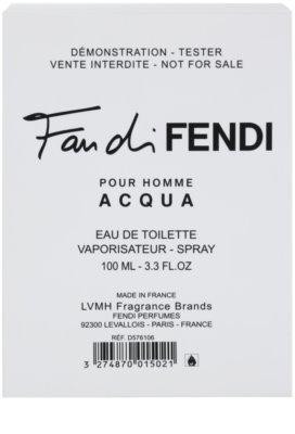 Fendi Fan di Fendi Pour Homme Acqua woda toaletowa tester dla mężczyzn 1
