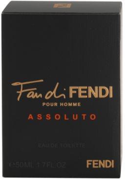 Fendi Fan di Fendi Pour Homme Assoluto woda toaletowa dla mężczyzn 3