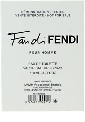 Fendi Fan di Fendi Pour Homme eau de toilette teszter férfiaknak 2