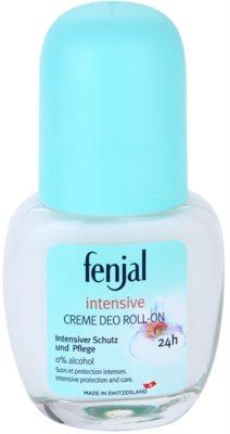 Fenjal Intensive deodorant roll-on cremos