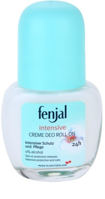 Fenjal Intensive desodorante roll-on en crema