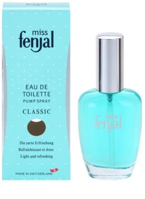 Fenjal Miss Classic Eau de Toilette for Women  With atomizer