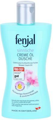 Fenjal Rose gel-crema de ducha con aceite