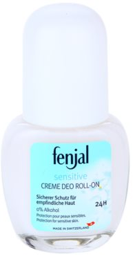 Fenjal Sensitive desodorante roll-on en crema