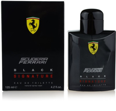 Ferrari Scuderia Ferrari Black Signature Eau de Toilette para homens