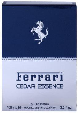 Ferrari Cedar Essence Eau de Parfum para homens 4