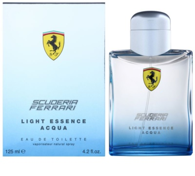 Ferrari Scuderia Ferrari Light Essence Acqua Eau de Toilette unissexo