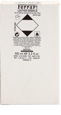 Ferrari Leather Essence eau de parfum teszter férfiaknak 3