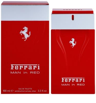 Ferrari Man in Red Eau de Toilette für Herren
