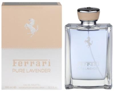 Ferrari Pure Lavender eau de toilette unisex