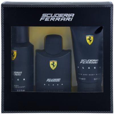 Ferrari Scuderia Ferrari Black lote de regalo