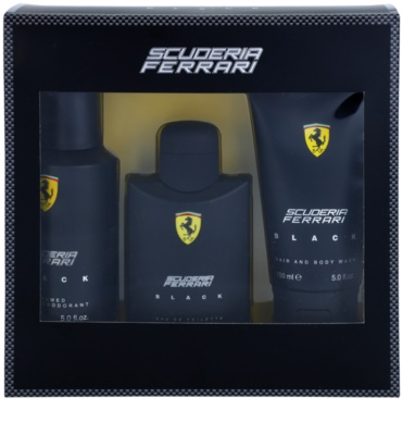Ferrari Scuderia Ferrari Black zestaw upominkowy