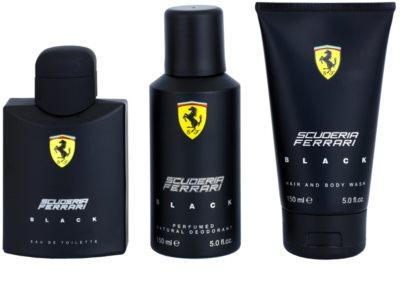Ferrari Scuderia Ferrari Black zestaw upominkowy 2