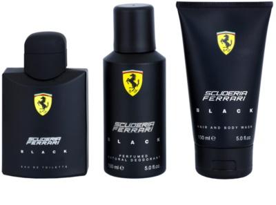 Ferrari Scuderia Ferrari Black coffret presente 2