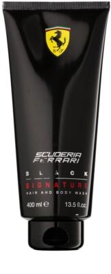 Ferrari Scuderia Ferrari Black gel de duche para homens