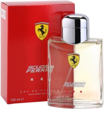 Ferrari Scuderia Ferrari Red Eau de Toilette para homens 1