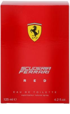 Ferrari Scuderia Ferrari Red Eau de Toilette para homens 4
