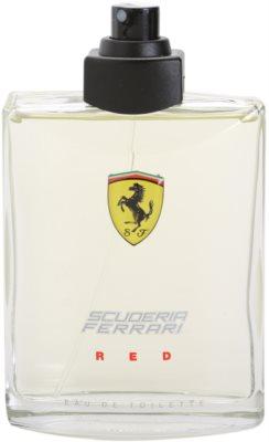 Ferrari Scuderia Ferrari Red тоалетна вода тестер за мъже