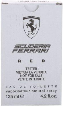 Ferrari Scuderia Ferrari Red toaletná voda tester pre mužov 3