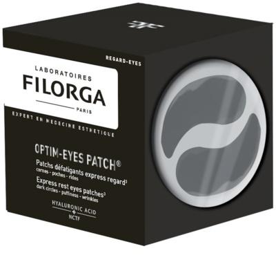 Filorga Medi-Cosmetique Optim-Eyes maska do oczu w postaci plastrów przeciw zmarszczkom, opuchnięciom i cieniom pod oczami 1
