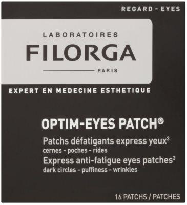 Filorga Medi-Cosmetique Optim-Eyes maska do oczu w postaci plastrów przeciw zmarszczkom, opuchnięciom i cieniom pod oczami 2