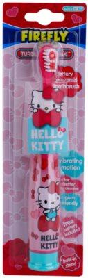 FireFly Hello Kitty escova de dentes vibratória com bateria soft