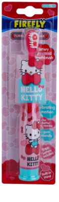 FireFly Hello Kitty Vibrationszahnbürste mit Batterie weich