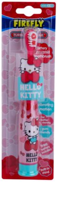 FireFly Hello Kitty wibracyjna szczoteczka do zębów z baterią soft