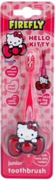FireFly Hello Kitty cepillo de dientes para niños con soporte suave