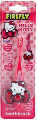 FireFly Hello Kitty zubní kartáček pro děti s držákem soft