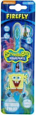 FireFly SpongeBob Kinderzahnbürste mit Halter weich