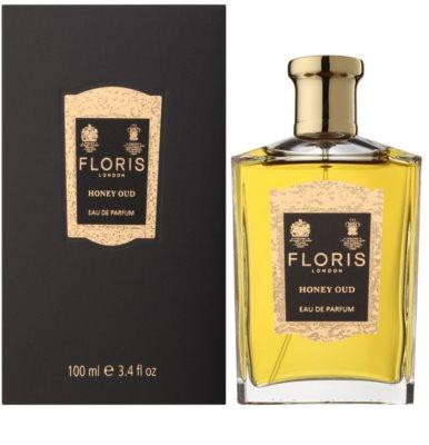 Floris Honey Oud parfumska voda uniseks