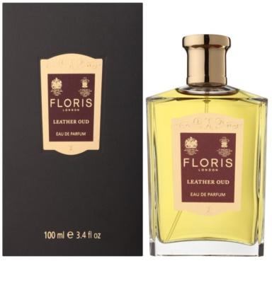 Floris Leather Oud parfémovaná voda unisex