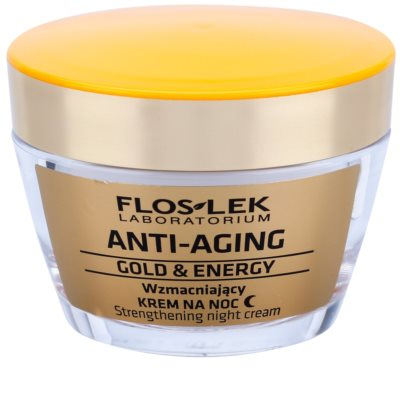FlosLek Laboratorium Anti-Aging Gold & Energy stärkende Nachtcreme