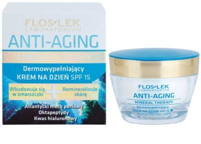FlosLek Laboratorium Anti-Aging Mineral Therapy vyplňující denní krém SPF 15 1